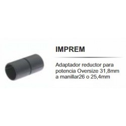 Reductor de Manillar KCNC Imprema 31.8/25.4mm